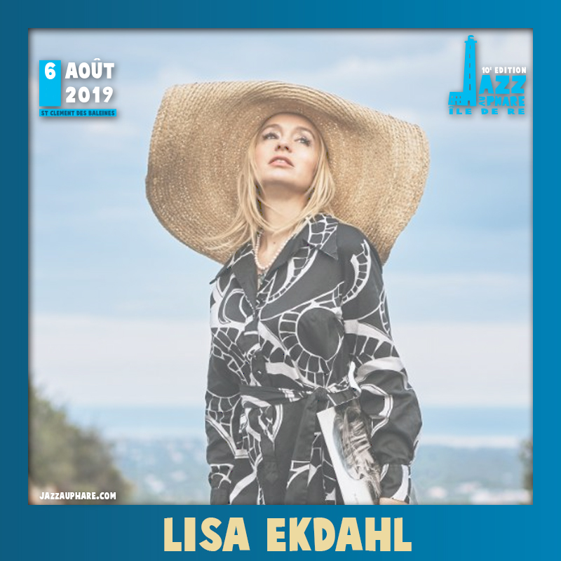 Lisa Ekdahl Jazz au Phare 2019