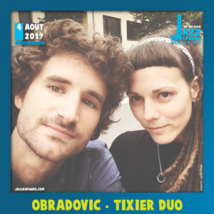 Obradovic Tixier Duo Jazz au Phare 2019