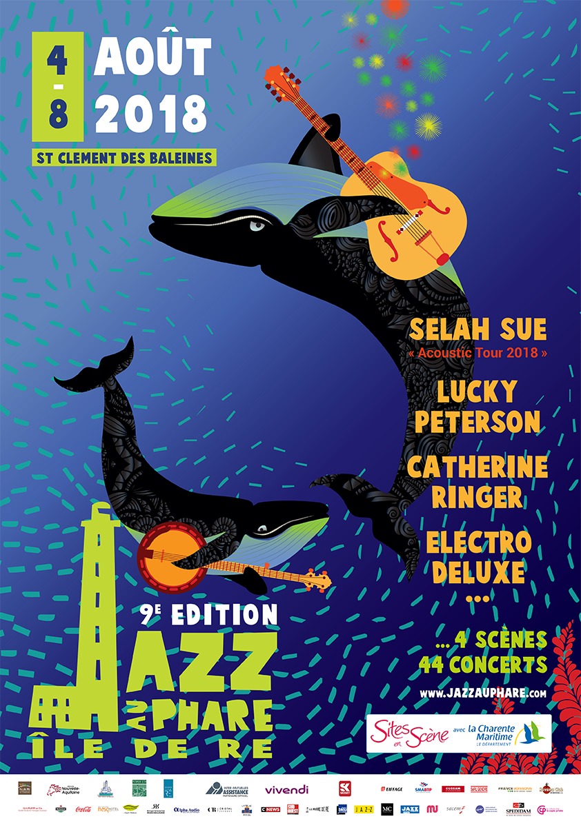 Affiche Jazz au Phare 2018