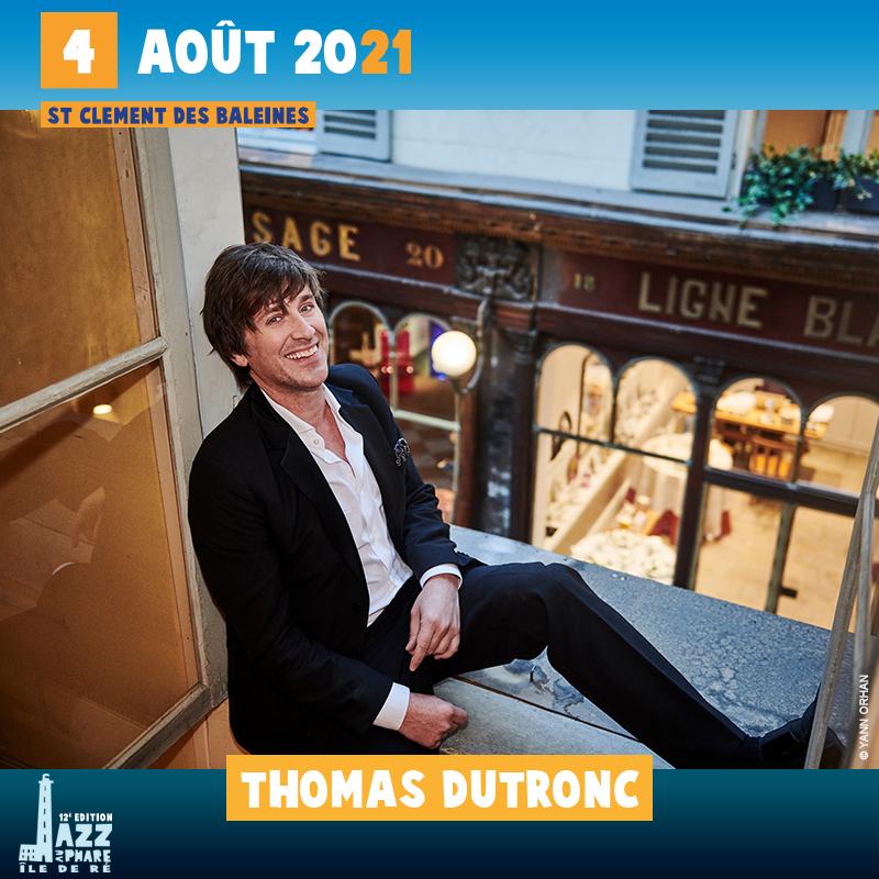 Thomas Dutronc jazz au phare 2021