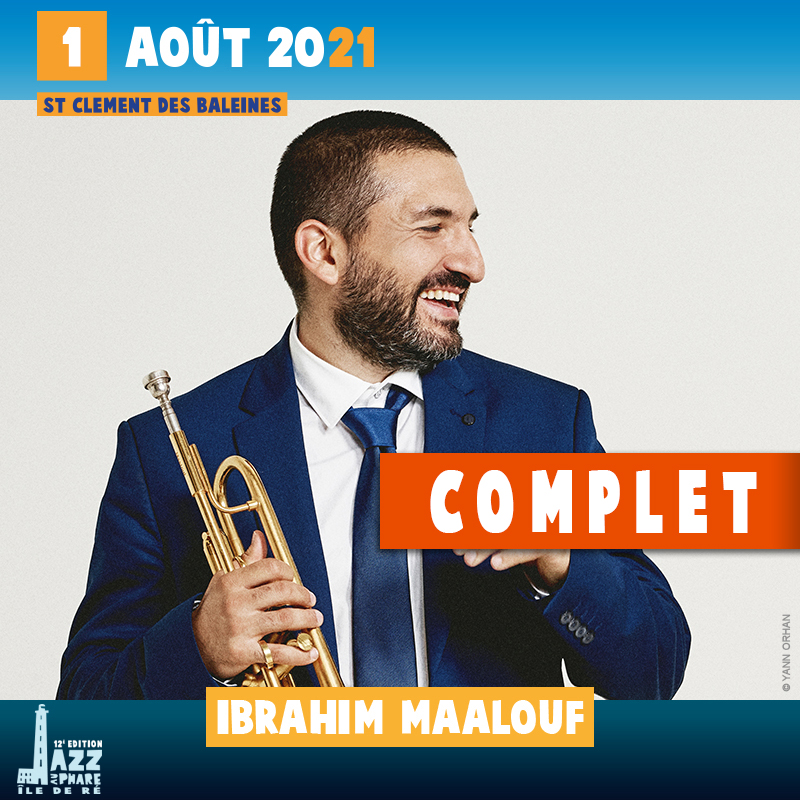 billetterie 2021 Jazz au Phare Ibrahim Maalouf