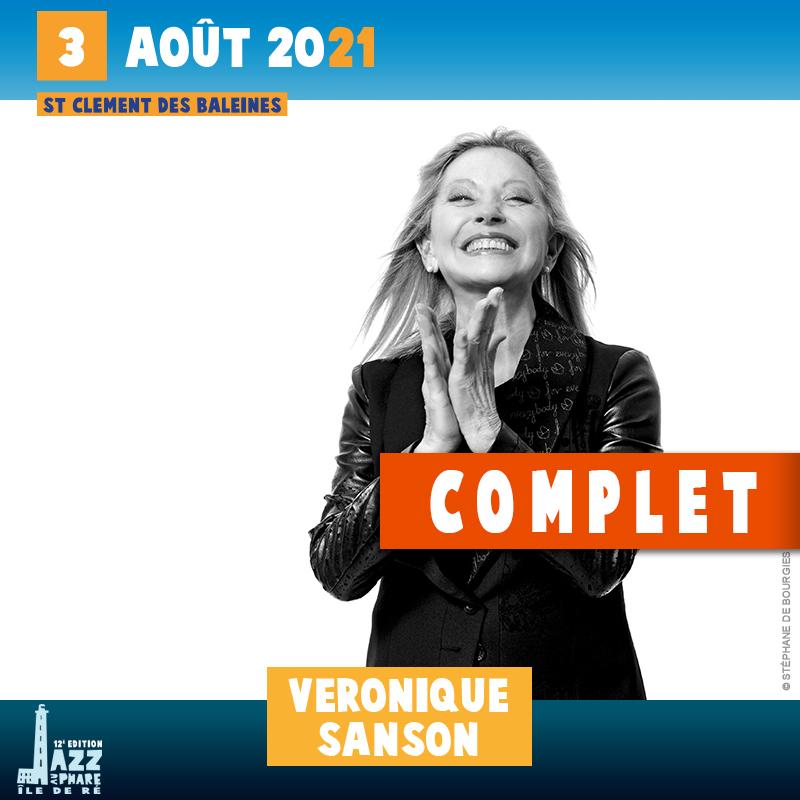 billetterie 2021 Jazz au Phare Véronique Sanson complet