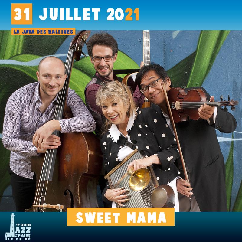 billetterie 2021 Jazz au Phare Sweet Mama