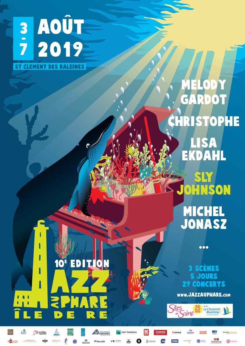 Affiche Jazz au Phare 2019