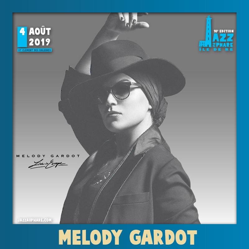 Melody Gardot + Obradovic-Tixier Duo : Dimanche 04 aout 2019
