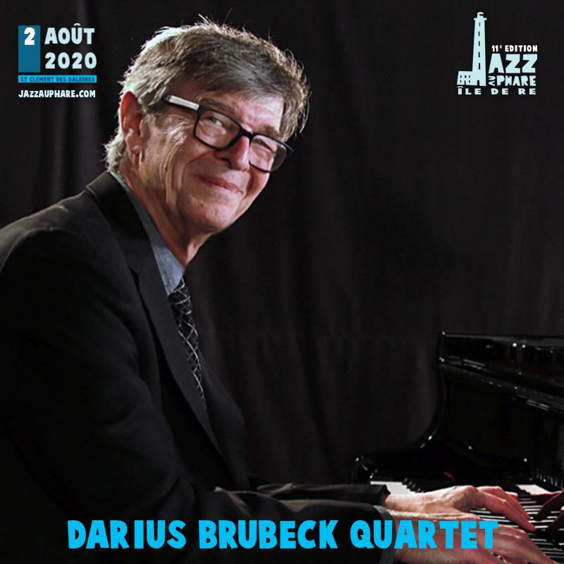 Darius Brubeck Quartet Jazz au Phare 2020